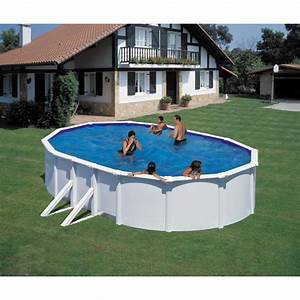 Piscine fidji ovale san marina piscine acier piscine shop for Enrouleur bache piscine hors sol ovale 12 piscine fidji ovale san marina piscine acier piscine shop