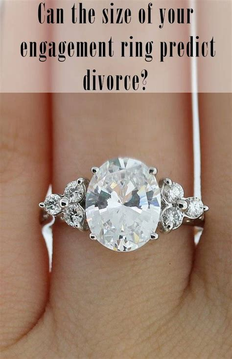 can the size of your engagement ring predict a divorce