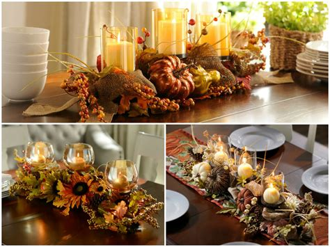 dinner table centerpiece ideas fall dining table decorating ideas to impress your guests