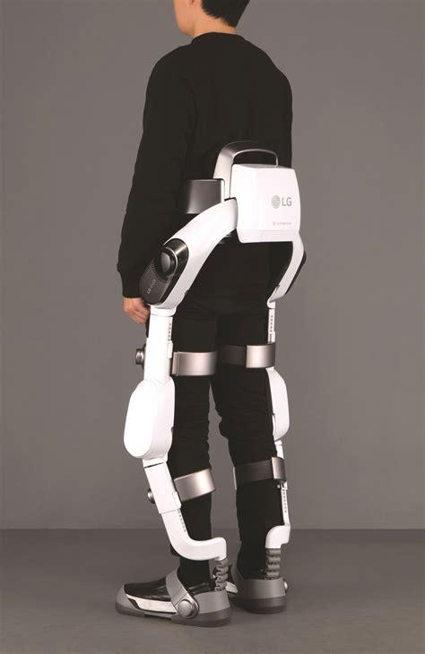 lg introduces wearable robot exoskeleton  ifa