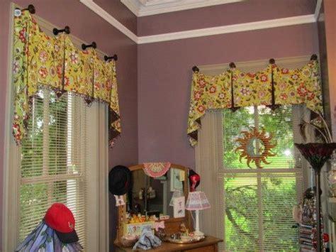 kitchen window valances ideas using hooks   Valance Ideas