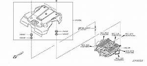 Infiniti M45 Engine Intake Manifold  Cover  Exhaust