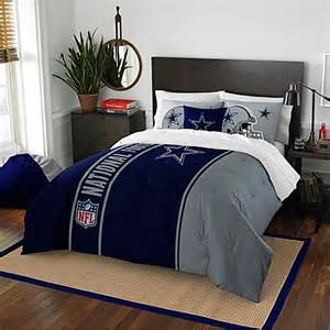 nfl dallas cowboys embroidered comforter set www bedbathandbeyond com