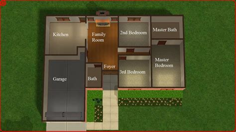 cool sims  house floor plans house plans