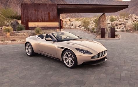 2018 Aston Martin Db11 Volante Arrives Next Spring