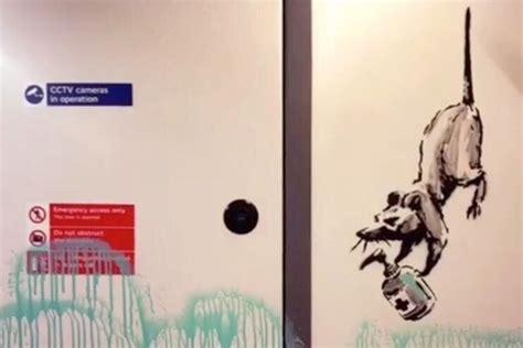 banksys coronavirus themed tube artworks