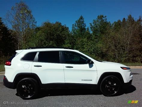 white jeep cherokee 2017 2017 bright white jeep cherokee sport altitude 116267362