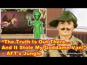 Alien Van Abduction - Action Figure Therapy - YouTube