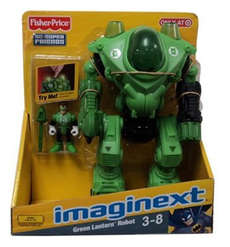 imaginext dc friends exclusive figure green lantern robot