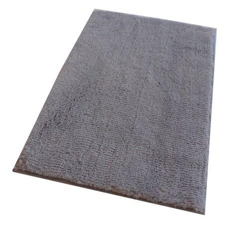 tapis de bain coton gris clair routner tapis de bain
