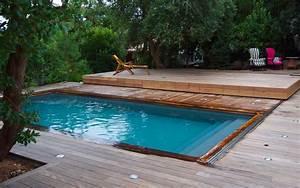 Bois Pour Terrasse Piscine : terrasse mobile pour piscine terrasse amovible pour ~ Edinachiropracticcenter.com Idées de Décoration