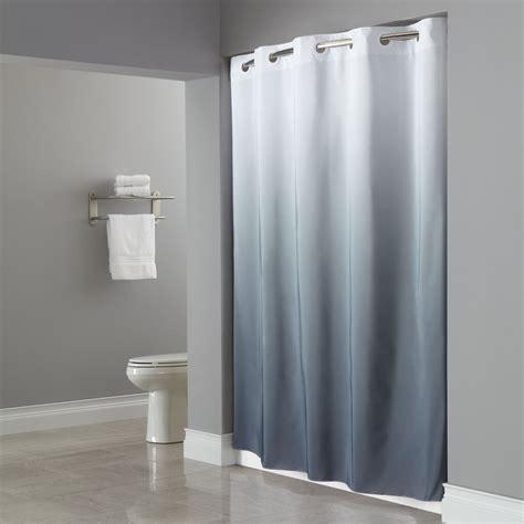hookless shower curtain hookless shower curtain sheer window