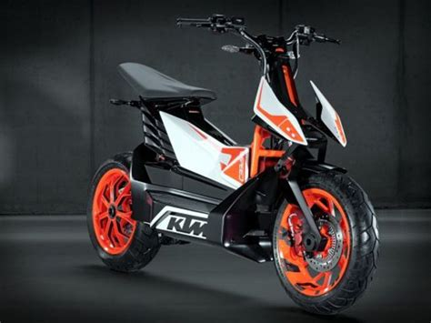 ktm  speed electric scooter concept unveiled  pictures