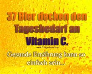 bier sprüche bierfakten 37 bier decken den tagesbedarf an vitamin c gesunde ernährung kann so einfach sein