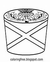 Coloring Cupcake Drawing Cake Cool Teenage Maple Printable Scottish Whipped Cream Tree Butterscotch Easy Template Icing Teens Swirl Sugar Syrup sketch template
