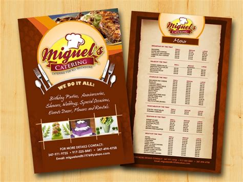 catering flyer templates ai psd docs pages