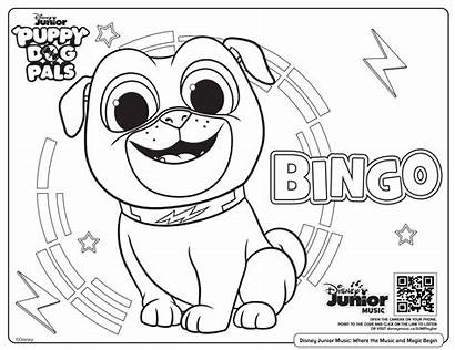 Coloring Disney Printable Colouring Dog Puppy Junior