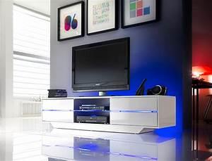 Tv Möbel Mit Led : lowboard 160x36x40 cm wei tv board tv m bel tv schrank ~ Pilothousefishingboats.com Haus und Dekorationen