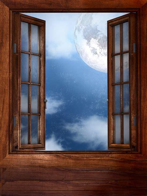 Offenes Fenster Bild by Window Moon Open 183 Free Image On Pixabay