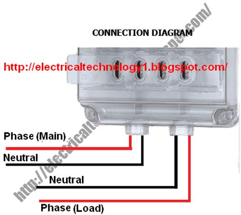 how to wire single phase kwh meter electrical technology