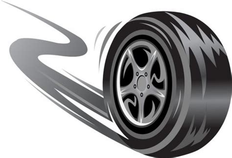 Pencil And In Color Tires Clipart
