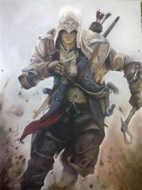 Connor Kenway Assassins Creed Iii By Montonico On