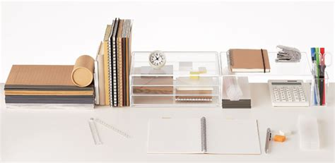muji desk accessories via we are scout com design
