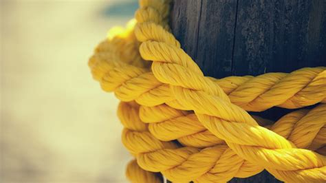 Yellow rope [1920×1080] : wallpapers