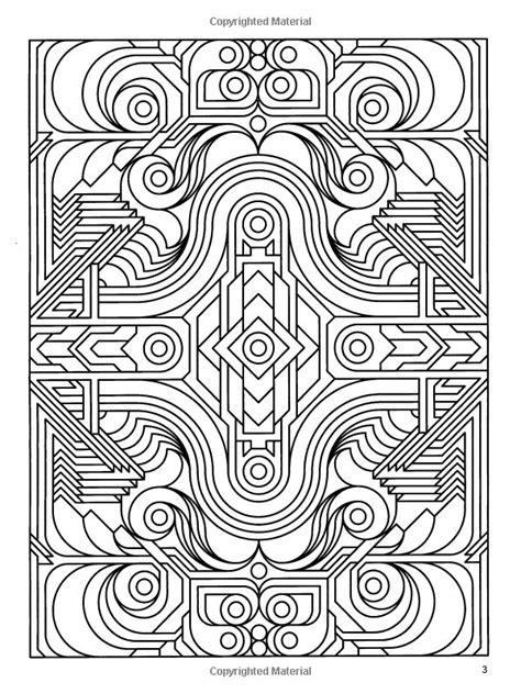 geometric coloring books deco tech geometric coloring book kleurplaten coloring