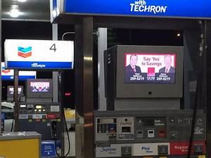 Gas Pump Top Digital Signage Enclosures