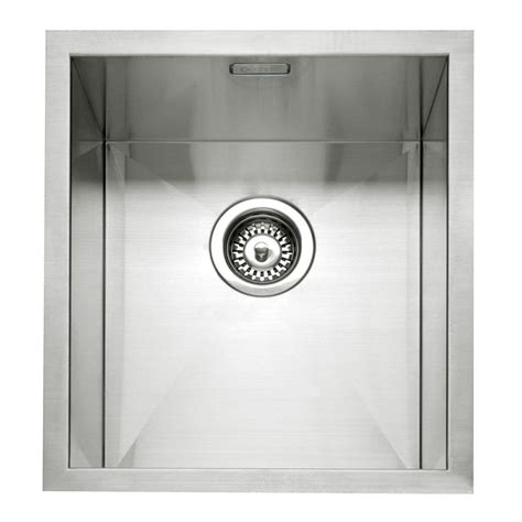 inset stainless steel kitchen sinks caple zero 35 stainless steel inset or undermount sink 7530