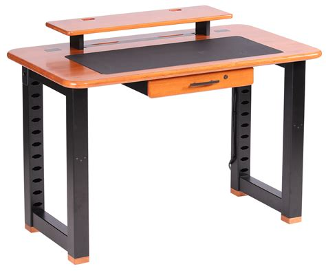 desk shelf riser loft desktop riser shelf cherry caretta workspace