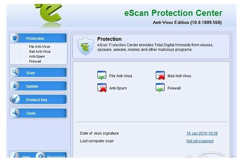 escan antivirus trial version free download 2015