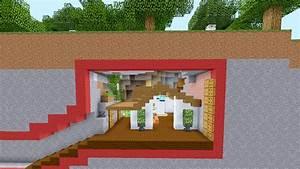 Comment Faire Une Maison : comment faire une maison moderne sous terre sur minecraft ~ Dallasstarsshop.com Idées de Décoration