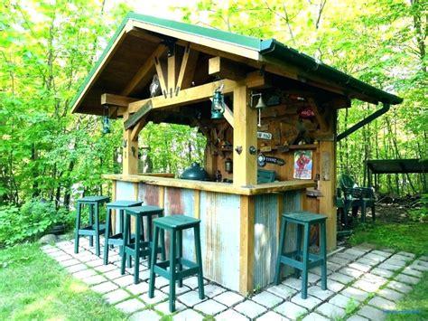 Backyard Tiki Bar by Patio Backyard Tiki Ideas Recognizealeader