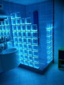 eclairage douche italienne gallery of nettoyage with With carrelage adhesif salle de bain avec eclairage led douche