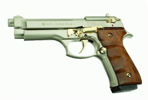 Jackal Dual Full Auto Blank Pistol(id