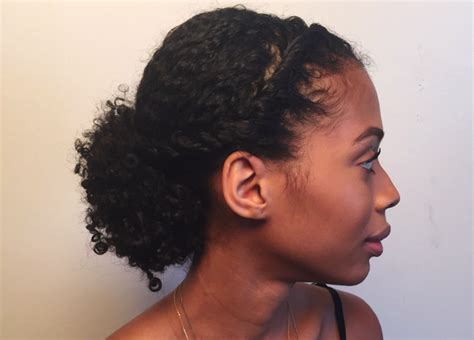 3 Simple Updos For Shoulder Length Curly Hair