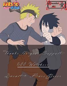 Naruto VS Sasuke FINAL BATTLE [500 WATCHER] by Kohaku-Art ...