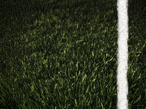 imagen de textura pasto verde linea de cal foto gratis