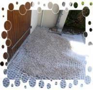gravier deco jardin pas cher With allee de jardin en cailloux 11 stabilisateur de gravier drainant et 100 recyclable