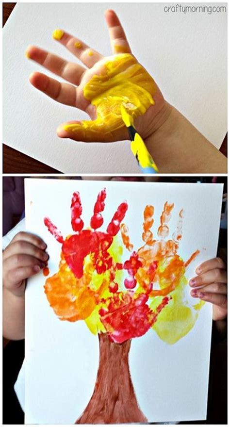 handprint fall tree craft crafty morning 160 | handprint fall tree craft for kids