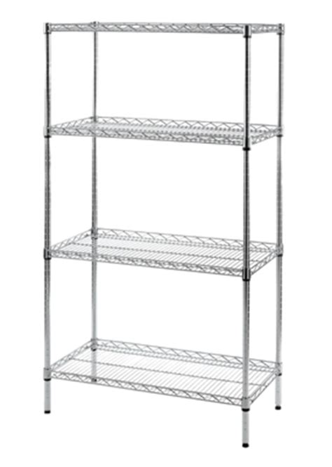 Regal Chrom by Chrome Lipped Shelf Rack Chrome Shelves