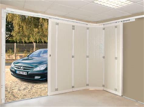 porte de garage coulissante motorisee avec portillon porte de garage coulissante domeau concept