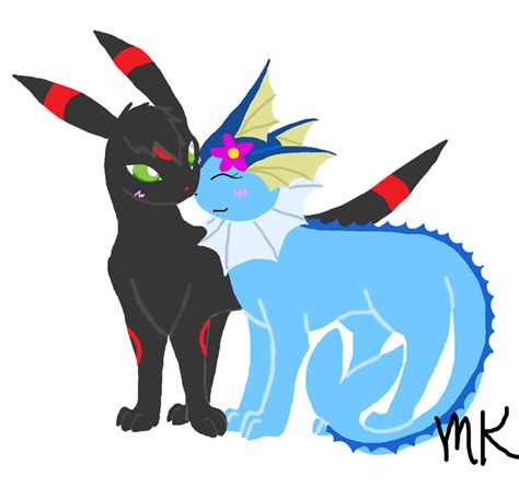 RQ: Umbreon and Vaporeon by MieKiki on DeviantArt