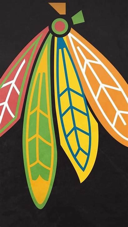 Blackhawks Chicago Iphone Feathers Hawks Border Desktop