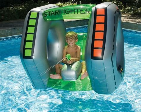 New Inflatable Starfighter Pool Toy, Ride, Float, Swimming
