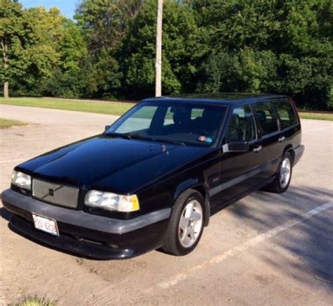 buy   volvo    wagon rare black owned