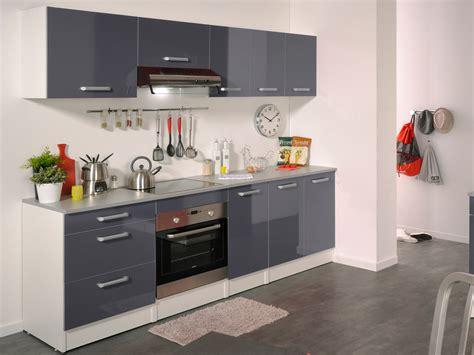 cuisine habitat ensemble cuisine quot shiny quot 2 4 m gris brillant 78744