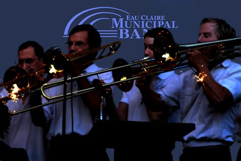 File:The Trombone Section of the Eau Claire Municipal Band ...